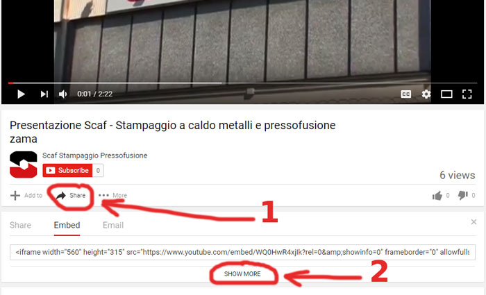 Come eliminare video correlati youtube