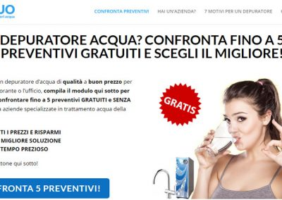Preventivi Depuratori Acqua