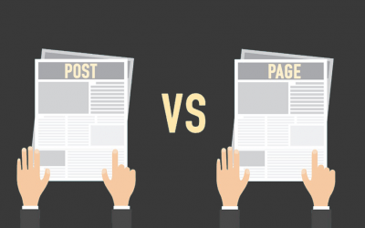 Differenza tra pagine e post in wordpress